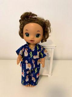 Pijama para Baby Alive (0003)