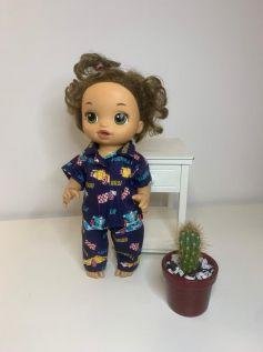 Pijama para Baby Alive (0004)