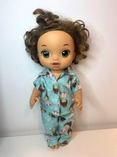 Pijama para American Girl ou Our Generation (0007)