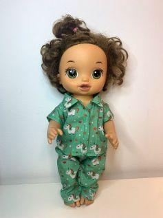 Pijama para American Girl ou Our Generation (0009)