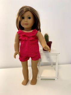 Pijama para American Girl ou Our Generation (0012)