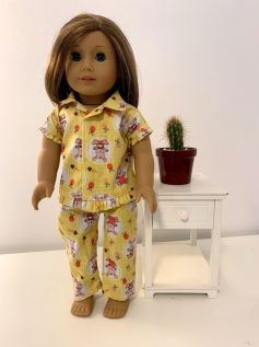 Pijama para American Girl ou Our Generation (0014)