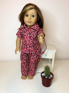 Pijama para American Girl ou Our Generation (0017)