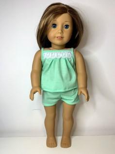 Pijama para American Girl ou Our Generation (0026)