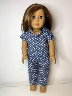 Pijama para American Girl ou Our Generation (0028)