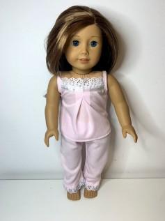 Pijama para American Girl ou Our Generation (0034)