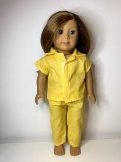 Pijama para American Girl ou Our Generation (0035)