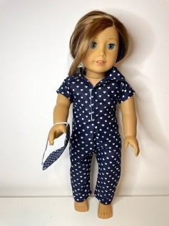 Pijama para American Girl ou Our Generation (0043)
