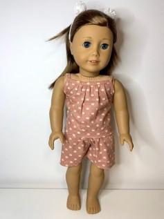 Pijama para American Girl ou Our Generation (0044)