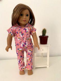 Pijama para American Girl ou Our Generation (0001)
