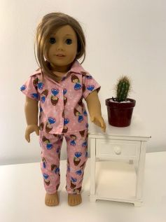 Pijama para American Girl ou Our Generation (0004)