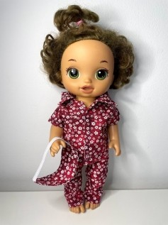 Pijama para Baby Alive (0017)
