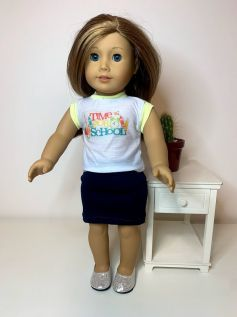 Saia para American Girl ou Our Generation (0042)