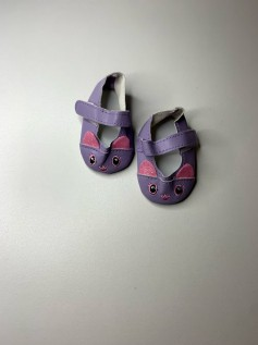 Sapato Gatinho American Girl ou Our Generation Lilás