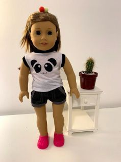 Sapato Crocs para American Girl ou Our Generation Pink