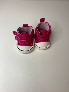 Sapato para Baby Alive - Tênis Rosa Pink Velcro