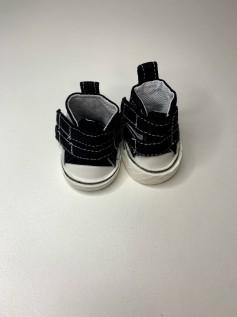 Sapato para Baby Alive - Tênis Preto Velcro