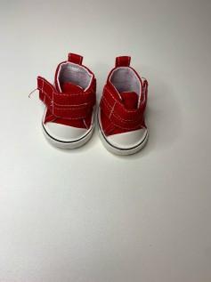 Sapato para Baby Alive - Tênis Vermelho Velcro