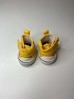 Sapato para Baby Alive - Tênis Amarelo Velcro