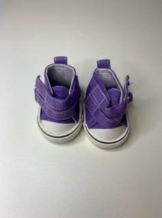 Sapato para Baby Alive - Tênis Lilás Velcro