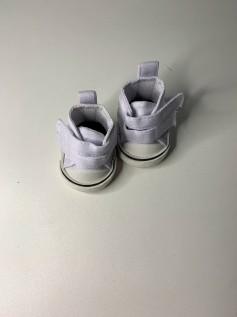 Sapato para Baby Alive - Tênis Branco Velcro