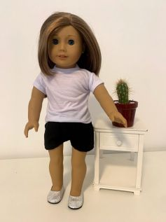 Short para American Girl ou Our Generation (0017)