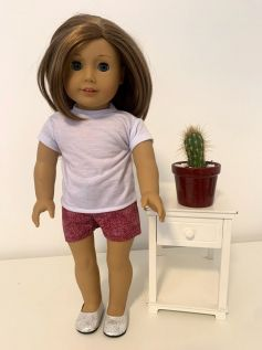 Short para American Girl ou Our Generation (0018)