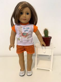 Short para American Girl ou Our Generation (0023)