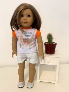 Short para American Girl ou Our Generation (0025)