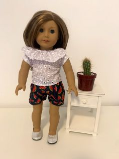 Short para American Girl ou Our Generation (0028)