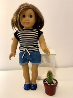 Short para American Girl ou Our Generation (0031)