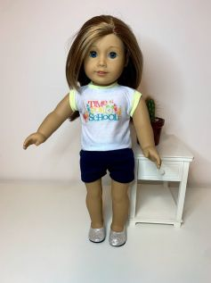 Short para American Girl ou Our Generation (0032)