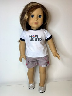 Short para American Girl ou Our Generation (0038)