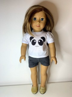 Short para American Girl ou Our Generation (0039)