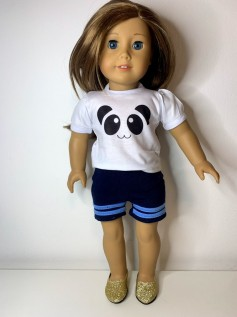 Short para American Girl ou Our Generation (0040)