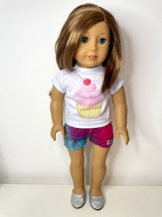 Short para American Girl ou Our Generation (0107)