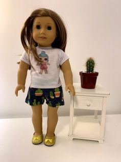 Short para American Girl ou Our Generation (0013)