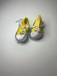 Tênis para American Girl ou Our Generation - Amarelo