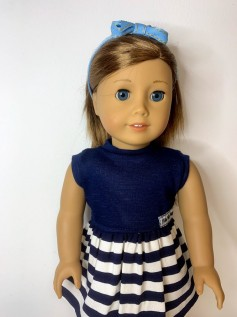 Tiara para Boneca Lacinho Azul