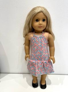 Vestido American Girl ou Our Generation 0002