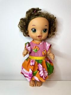 Vestido Caipira para Baby Alive (0005)