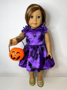 Vestido Halloween para American Girl ou Our Generation (0001)