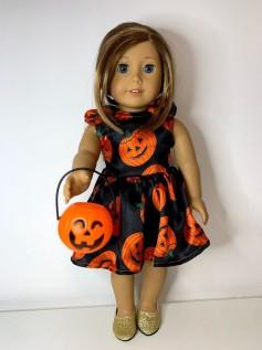Vestido Halloween para American Girl ou Our Generation (0002)