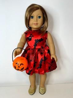 Vestido Halloween para American Girl ou Our Generation (0003)