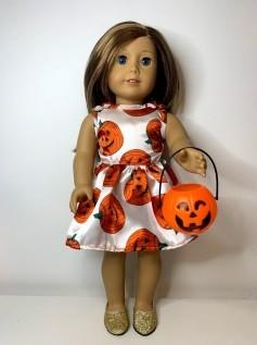 Vestido Halloween para American Girl ou Our Generation (0004)