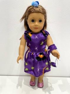 Vestido Halloween para American Girl ou Our Generation (0005)
