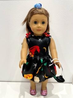 Vestido Halloween para American Girl ou Our Generation (0006)