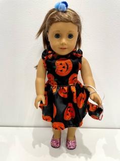 Vestido Halloween para American Girl ou Our Generation (0008)