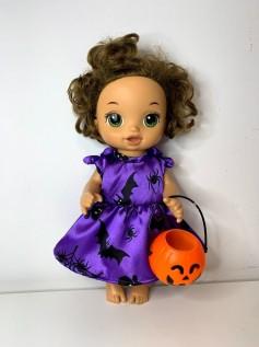 Vestido Halloween para Baby Alive (0001)