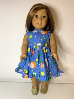 Vestido para American Girl ou Our Generation (0001)